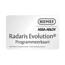 Programmeerkaart Radaris Evolution